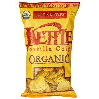 Kettle Brand Certified Organic Tortilla Chips, Little Dippers, 8 Ounce Bags (Pack of 12) : Corn Chips : Grocery & Gourmet Food