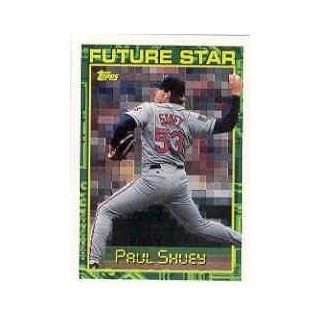 1994 Topps Traded #78T Paul Shuey at 's Sports Collectibles Store