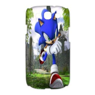 Sonic the Hedgehog Samsung Galaxy S3 I9300/I9308/I939 case Unique Designer cartoon game plastic cover case: Cell Phones & Accessories