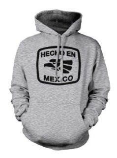 Hecho EN Mexico Pride Mexican Bird Proud Culture Country Men's Size Hoodie Sweatshirt: Clothing