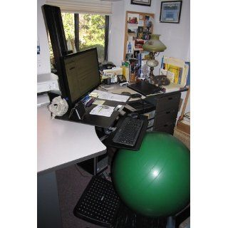 WorkFit S. Single LD Sit Stand Workstation: Office Products
