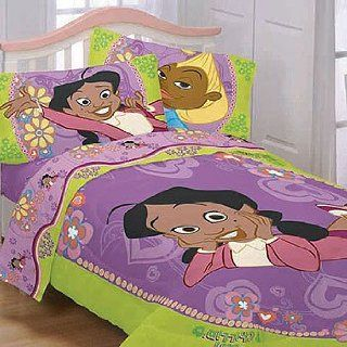 Proud Family Bedding Set   African American Bed Set   Twin Size   Comforter Sets