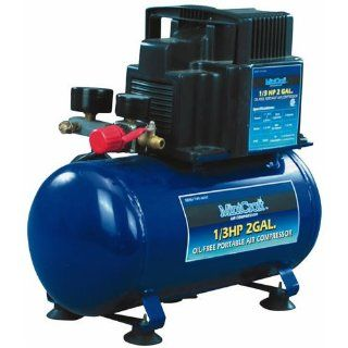 Mintcraft 1/3Hp Air Compressor 2 Gallon Tan TA0108