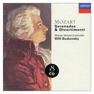Mozart: Serenades & Divertimenti   Wiener Mozart Ensemble / Willi Boskovsky: Music