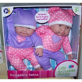 "Lots to Cuddle Babies 15"" Twins Dolls: Toys & Games"