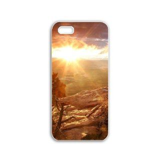 Really Cool Iphone 5 Mobile Case DIY New Creative Cellphone Back Cover with Popular Fantasy Pictures Cool Backgrounds Series twelve Natural Scenery: Cell Phones & Accessories