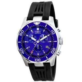Invicta Men's 5383 II Collection Racing Sport Chronograph Stainless Steel and Black Rubber Watch Invicta Watches