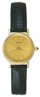 Seiko 14K Solid Gold Collection Women Watch   SFS976 at  Women's Watch store.