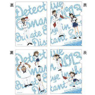 Clear File Set (Private Eye of the distant sea) Detective Detective Conan distant sea theater [limited] Gosho Aoyama Conan Edogawa, Kudo Shinichi, Hattori Heiji, Mouri Ran, Haibara Ai, Ayumi Yoshida, Mitsuhiko Tsuburaya, Kojima Genta (japan import): Toys &