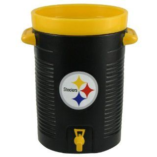 NFL Pittsburgh Steelers Black Water Cooler Cup : Sports Related Merchandise : Sports & Outdoors