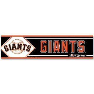 San Francisco Giants Bumper Sticker Decal : Sports Related Merchandise : Sports & Outdoors