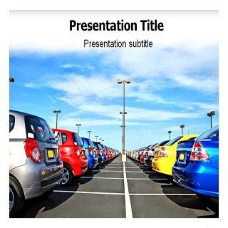 Parking Powerpoint Templates   Parking Powerpoint Background: Software