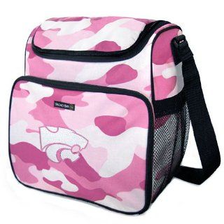 K State Kansas State University KSU WildCats Pink Camo Diaper Bag by Broad Bay : Sports Related Merchandise : Sports & Outdoors