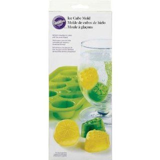 Wilton Silicone Fruit Ice Cube Cavity, 10 Mold Shot Glasses Kitchen & Dining