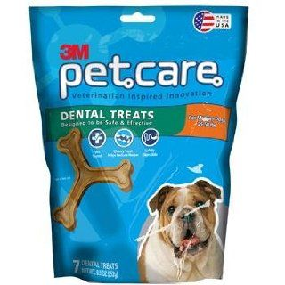 3M 94942 Medium Dental Treats for Dogs   14 Pack : Edible Pet Treats : Pet Supplies