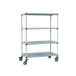 "METRO METROMAX Q Shelf Trucks with Microban Finish   48""Wx18""D Shelf   68""H: Hand Trucks: Industrial & Scientific"