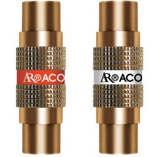 Acoustic Research PR416 Female to Female RCA Barrel Connector, 1 pair (Discontinued by Manufacturer): Electronics
