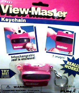 View Master Keychain   Really works!: Toys & Games