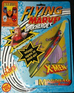 Flying Marvel Superheroes: Magneto Really Flies: Toys & Games