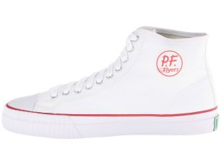 PF Flyers Center Hi White Canvas 4
