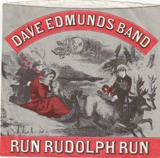 EDMUNDS, Dave, Band / Run Rudolph Run /45rpm record + picture sleeve: Music
