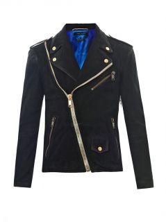 Suede biker jacket  Marc Jacobs