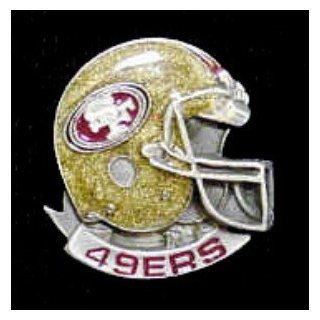 Officially Licensed NFL Team Helmet Pin   San Francisco 49ers