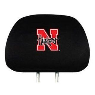 Nebraska Huskers Car Seat Headrest Covers : Sports Related Merchandise : Sports & Outdoors