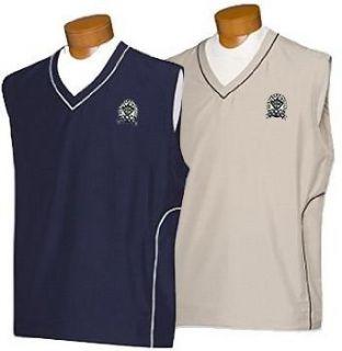 Cutter & Buck 2008 PGA Championship Windtec V Neck Vest : Sports Related Merchandise : Clothing