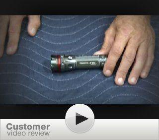 Nebo 5581 220 Lumen Redline Tactical Flashlight Strobe S.O.S   Basic Handheld Flashlights