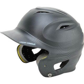 UNDER ARMOUR Senior Batting Helmet, Carbon