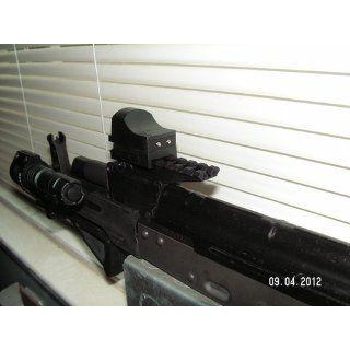Strike Industries AK Rear Sight Rail For Low Profile Red Dot Optics for AK47 AK 47 AK 47 Rifles  Airsoft Gun Rails  Sports & Outdoors