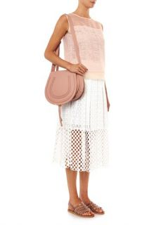 Net lace sleeveless blouse  Rebecca Taylor