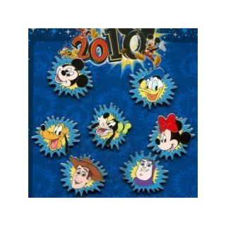 Disney Pin with Splash Background Same Upc Code Pick One: Toys & Games