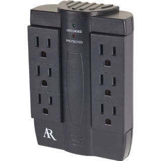 Acoustic Research AS6 Swivel Surge Protector Electronics
