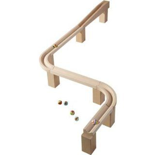 Horizontal track   Marble Ball Track Accessory: Toys & Games