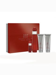 Perry Ellis Mens Perry Ellis 360 Red Gift Set for Men