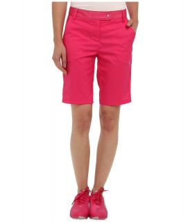 PUMA Golf Solid Tech Bermuda Golf Short 14 Womens Shorts (Pink)