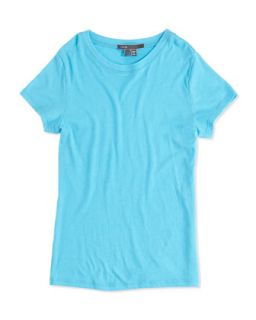 Girls Favorite Tee, Blue, S XL   Vince