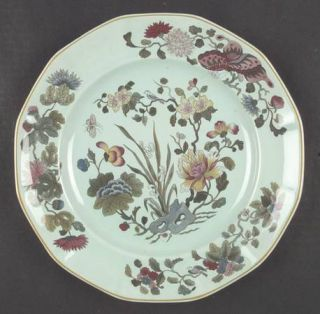 Adams China Ming Jade Dinner Plate, Fine China Dinnerware   Calyxware, Oriental