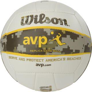 WILSON AVP Replica Outdoor Volleyball, Camo