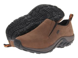 Merrell Jungle Moc Nubuck Waterproof Mens Shoes (Brown)