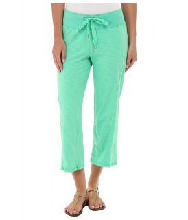 Mod o doc Heavier Slub Jersey Seamed Capri Womens Capri (Green)