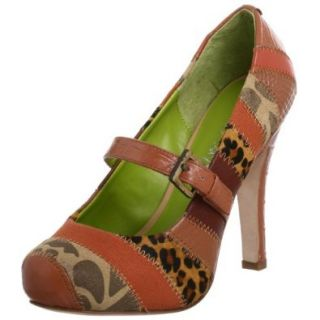 Cindy Says Women's Stephanie Pump,Tan,11 M US: Shoes