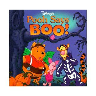 Disney's Pooh Says Boo!: Nancy Parent: 9781570827525:  Children's Books