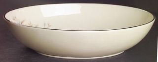 Lenox China Wyndcrest 9 Oval Vegetable Bowl, Fine China Dinnerware   Blue Flowe
