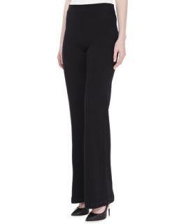 Womens Cashmere Lounge Pants, Black   Donna Karan   Black (SMALL)