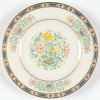 Lenox China Mystic Bread & Butter Plate, Fine China Dinnerware   Multicolor Band