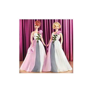 I Love Lucy! Lucy & Ethel Buy Same Dress Barbie Doll Set: Toys & Games