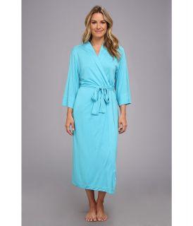 Natori Shangri La Robe Womens Robe (Blue)